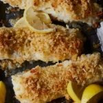 seared and crusted lingcod